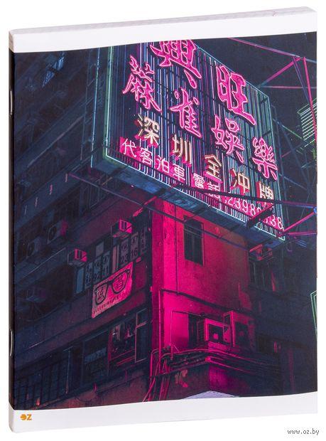 """Тетрадь полуобщая в клетку """"Китайский квартал"""" (48 листов) — фото, картинка"""
