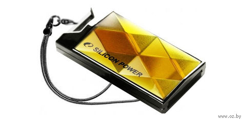 USB Flash Drive 16Gb Silicon Power Touch 850 Amber Paper Box