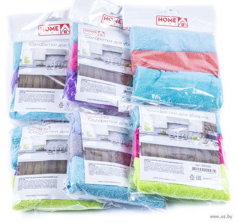 Набор тряпок для уборки текстильных (3 шт.; 300х300 мм) — фото, картинка