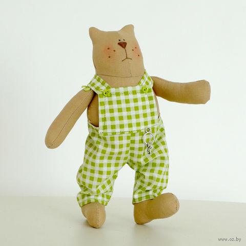 "Кукла ""Кот"" (в комбинезоне) — фото, картинка"