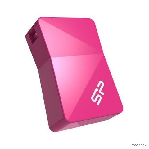 USB Flash Drive 16Gb Silicon Power Touch T08 (Pink)