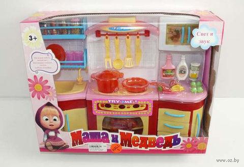 """Игровой набор """"Кухня для Маши и Миши"""" (со световыми и звуковыми эффектами) — фото, картинка"""