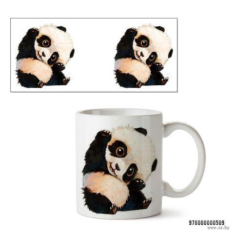 """Кружка """"Панда"""" (белая; арт. 0509) — фото, картинка"""