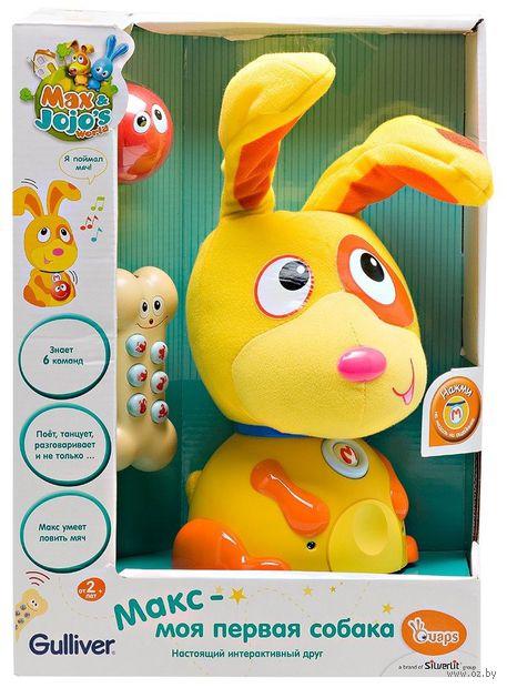 """Интерактивная игрушка """"Макс - моя первая собака"""""""