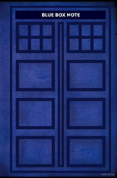 """Блокнот """"Blue Box Note"""" (А5) — фото, картинка"""