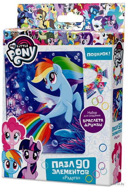 "Пазл ""My Little Pony. Радуга"" (90 элементов) — фото, картинка"