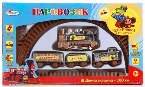 """Железная дорога """"Чебурашка и его друзья"""" — фото, картинка"""