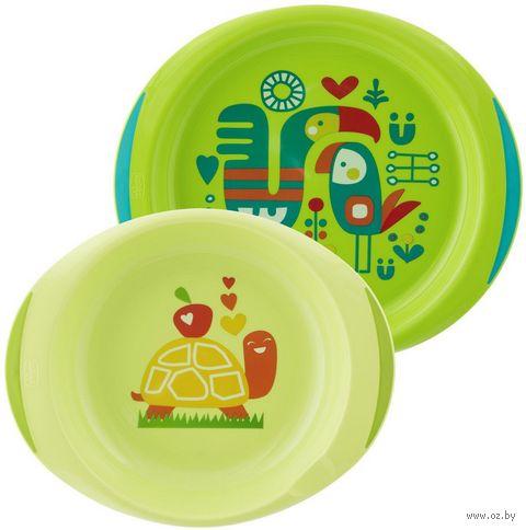 Набор посуды (миска, тарелка; арт. 00016002200000) — фото, картинка