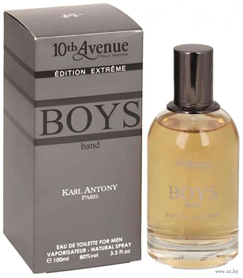 "Туалетная вода для мужчин ""Boy's Band Edition Extreme"" (100 мл) — фото, картинка"