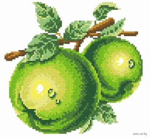 """Алмазная вышивка-мозаика """"Зеленые яблоки"""""""