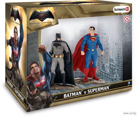 """Набор фигурок """"Бэтмен и Супермэн"""" (16 см) — фото, картинка"""