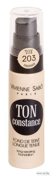 """Тональный крем для лица """"Ton Constance"""" (тон: 203, натуральный беж) — фото, картинка"""