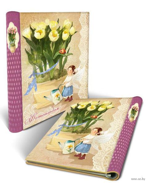 """Фотоальбом """"Желтые тюльпаны"""" (арт. 44859) — фото, картинка"""