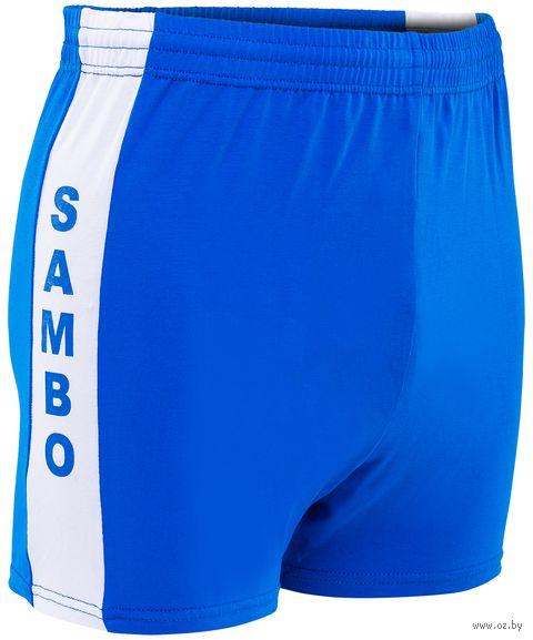 Шорты для самбо (р. 40; синие) — фото, картинка