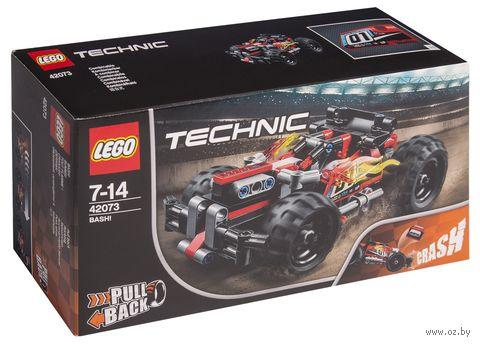 """LEGO Technic """"Красный гоночный автомобиль"""" — фото, картинка"""