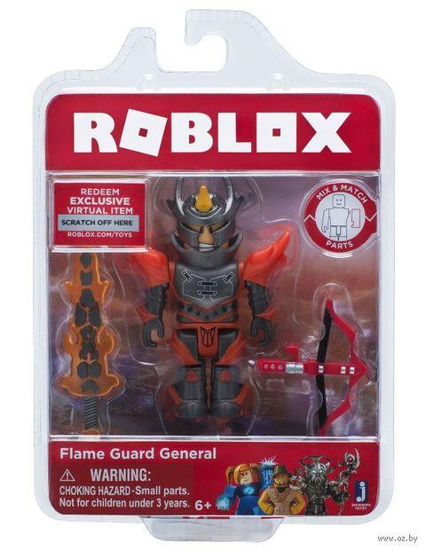 "Фигурка ""Roblox. Генерал Страж Пламени"" — фото, картинка"
