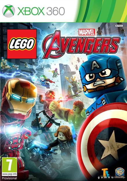 LEGO Marvel Мстители (Xbox 360)