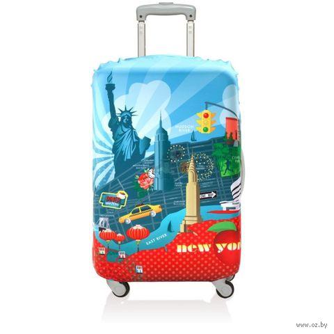 "Чехол для чемодана ""New York"" (малый)"