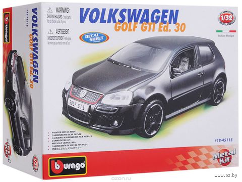 "Модель машины ""Bburago. VW Golf GTI Edition 3"" (масштаб: 1/32)"