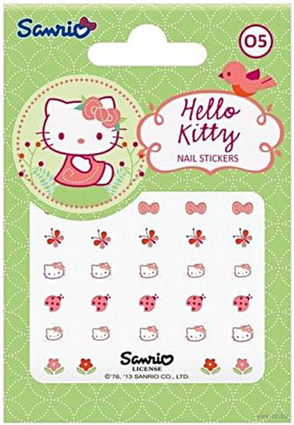 "Наклейки на ногти ""Hello Kitty"" (№ 05)"