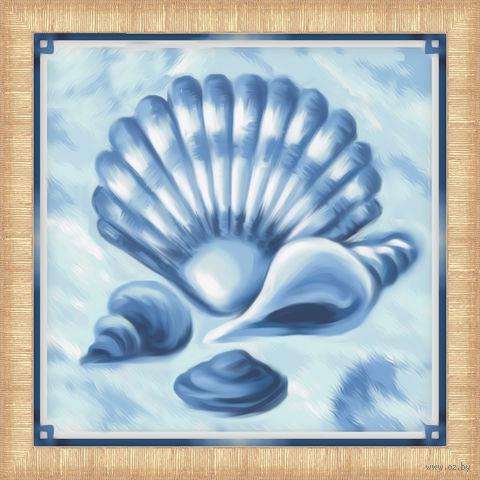 "Алмазная вышивка-мозаика ""Подарки моря"" (150х150 мм) — фото, картинка"