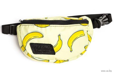 """Сумка поясная """"Бананы"""" — фото, картинка"""