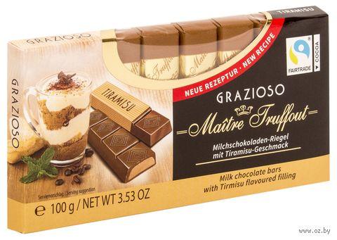 "Шоколад молочный ""Tiramisu"" (100 г) — фото, картинка"