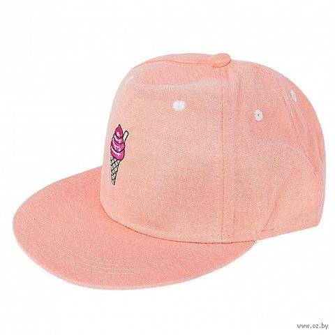 "Кепка ""Мороженое"" (розовая) — фото, картинка"