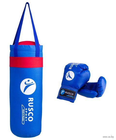 Набор для бокса (4 oz; синий) — фото, картинка