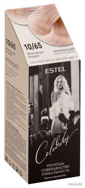"""Краска-уход для волос """"Estel Celebrity"""" (тон: 10.65, жемчужный блондин) — фото, картинка"""