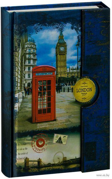 """Записная книжка """"Знаменитые города. Лондон"""" (С6)"""