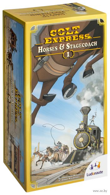 Colt Express: Horses and Stagecoach (дополнение)