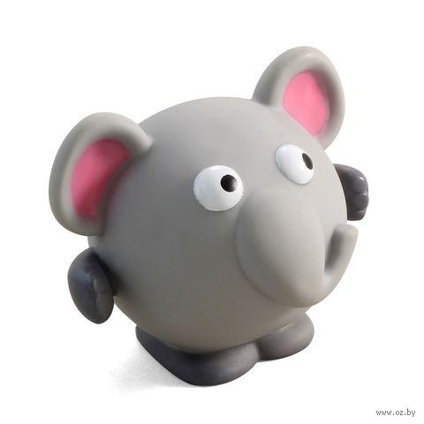 """Игрушка для собак с пищалкой """"Слон"""" (8,5 см) — фото, картинка"""