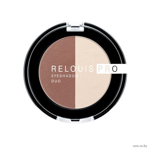 "Тени для век ""Relouis Pro Eyeshadow Duo"" (тон: 103) — фото, картинка"