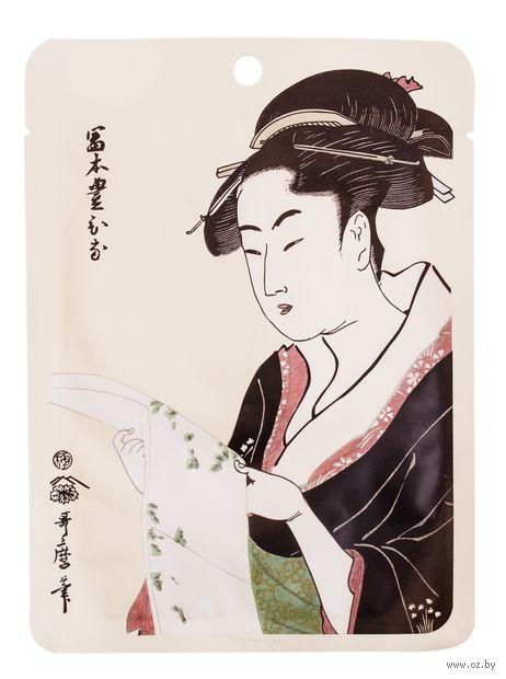 """Тканевая маска для лица """"Жемчуг и экстракт цветков Сакуры"""" (25 г) — фото, картинка"""