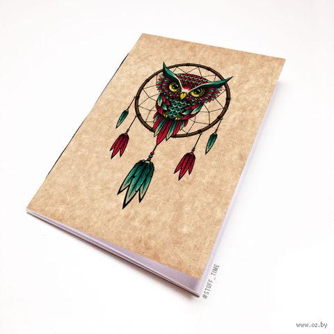 """Блокнот крафт """"Сова"""" (А5; арт. 265) — фото, картинка"""