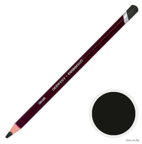 Карандаш цветной Coloursoft C640 (коричнево-черный)