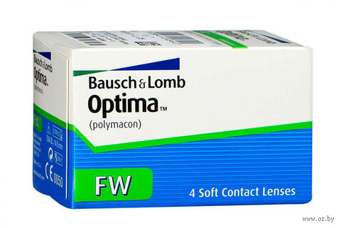 "Контактные линзы ""Optima FW"" (1 линза; -5,5 дптр; 8,7 мм) — фото, картинка"