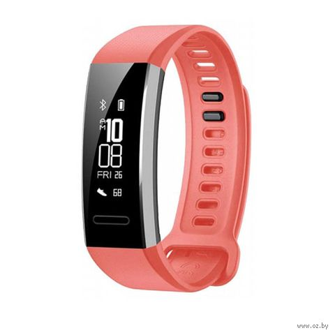 Фитнес-браслет Huawei Band 2 Pro (красный) — фото, картинка