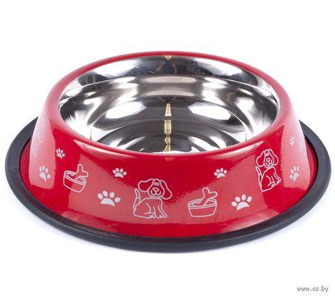 Миска для собак (20,5х4,5 см; арт. 55201CN-16) — фото, картинка