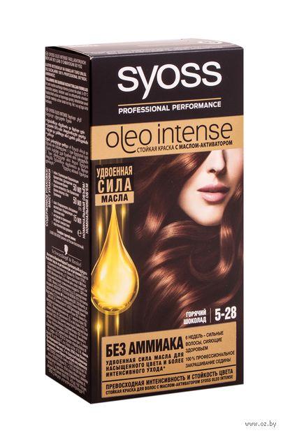 "Краска для волос ""Oleo intense"" тон: 5-28, горячий шоколад — фото, картинка"