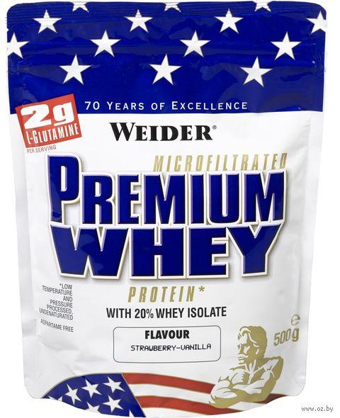 """Протеин """"Premium Whey Protein"""" (500 г; ваниль-клубника) — фото, картинка"""
