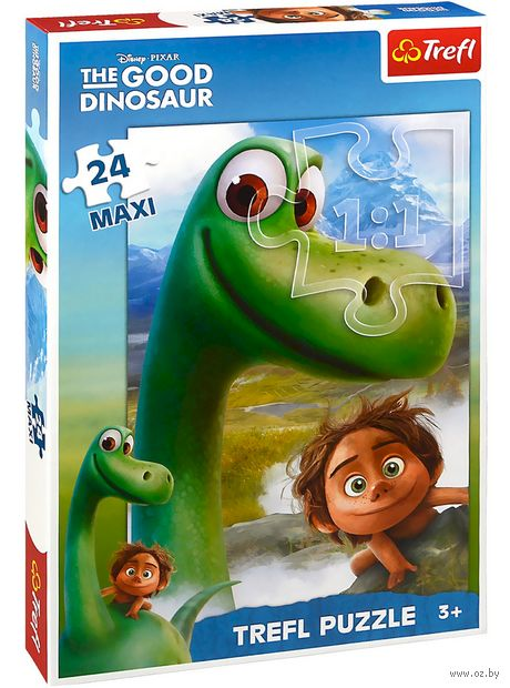 "Пазл ""Хороший динозавр. Арло и Спот"" (24 элемента) — фото, картинка"