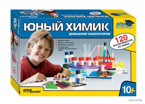 """Набор для опытов """"Юный химик. Домашняя лаборатория"""""""