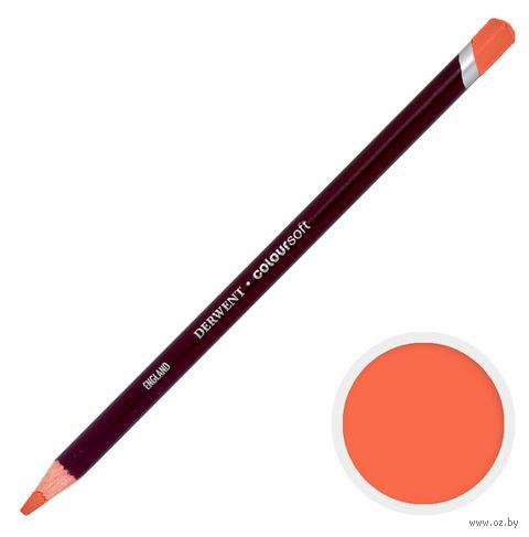 Карандаш цветной Coloursoft C090 (оранжевый красный)