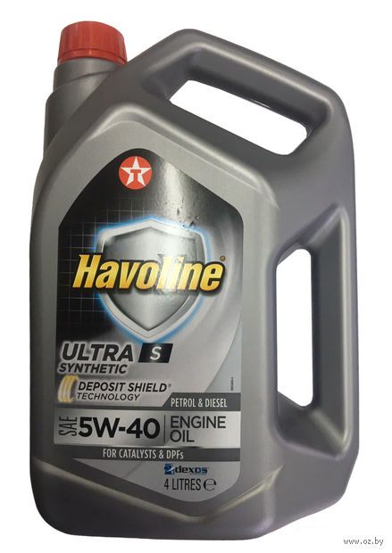 "Масло моторное ""Havoline Ultra S"" 5W-40 (4 л) — фото, картинка"