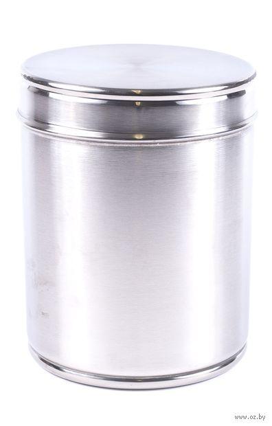 Банка для сыпучих продуктов металлическая (1,8 л; арт. 15588-12) — фото, картинка