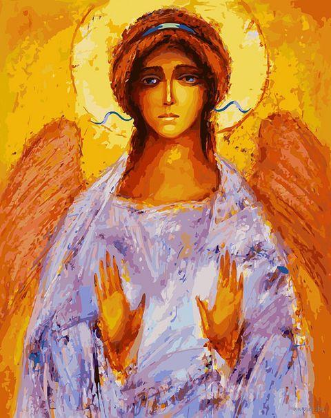 """Картина по номерам """"Ангел"""" (400х500 мм) — фото, картинка"""