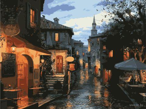 "Картина по номерам ""Средневековые улочки"" (400х500 мм) — фото, картинка"