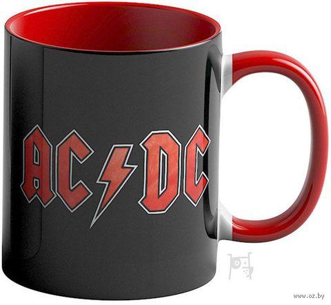 "Кружка ""AC/DC"" (красная; арт. 3635) — фото, картинка"